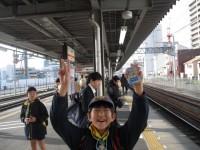 清水駅にて