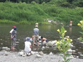 川遊び13.7.28A